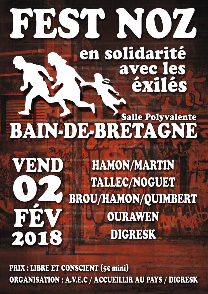 Vend 02 Fév - Fest-Noz Bain de Bretagne