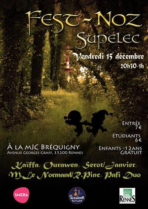 Fest-Noz Supelec - 15 Déc