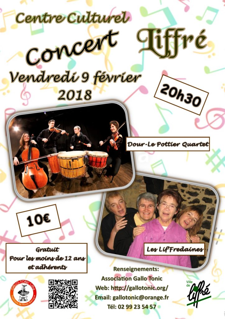Vend 09 Fév - Concert Liffré
