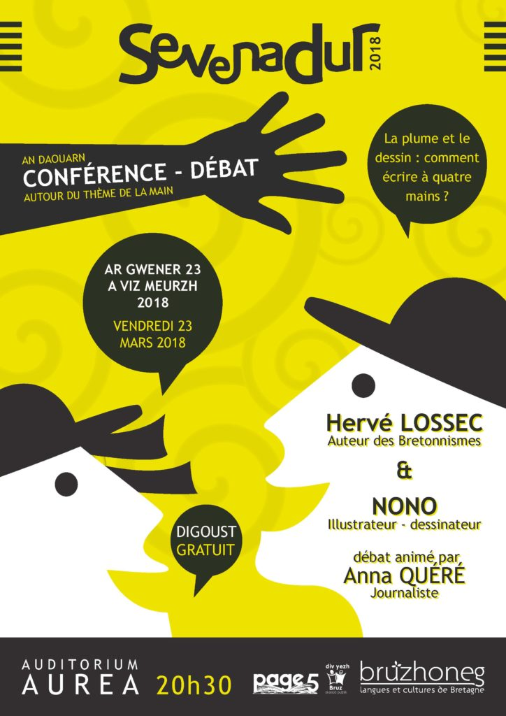 Vend 23 mars – BRUZ – Conférence-débat
