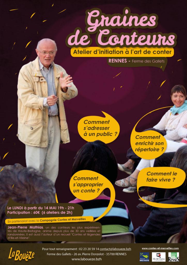 Lundi 14 Mai - Atelier Graines de Conteurs / Rennes
