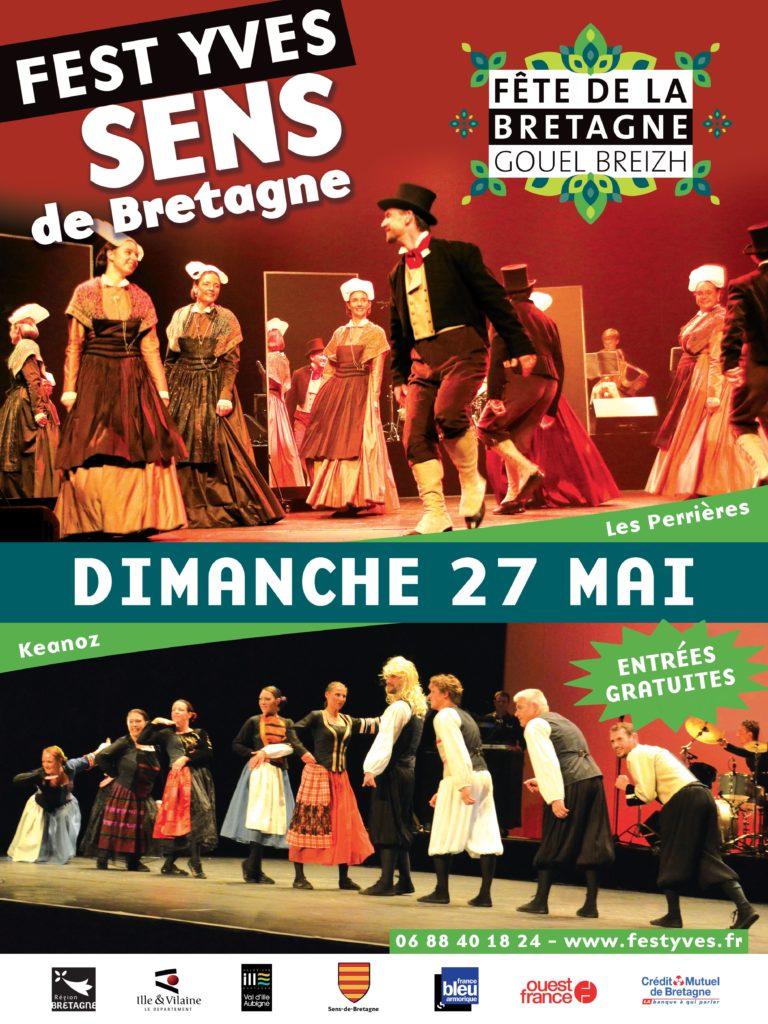 Dimanche 27 Mai - Fest ' Yves 2018 / Sens de Bretagne