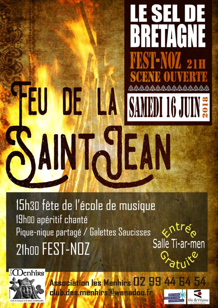Samedi 16 Juin : Feu de la Saint Jean - Le-Sel-de-Bretagne