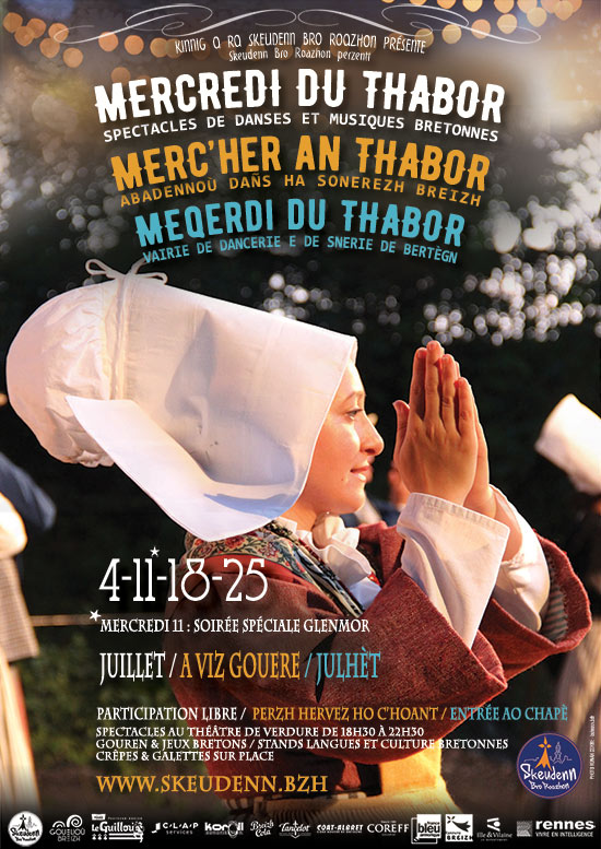 4,11,18 et 25 Juillet : Mercredis du Thabor - Rennes