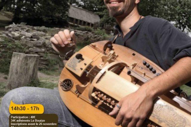 Sam 1er décembre : Stage de vielle à roue - Trébédan
