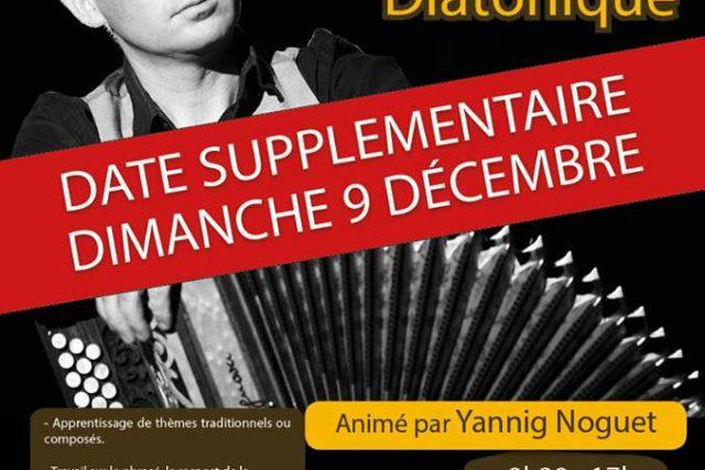 Dim 9 décembre : Stage d'accordéon diatonique - Rennes