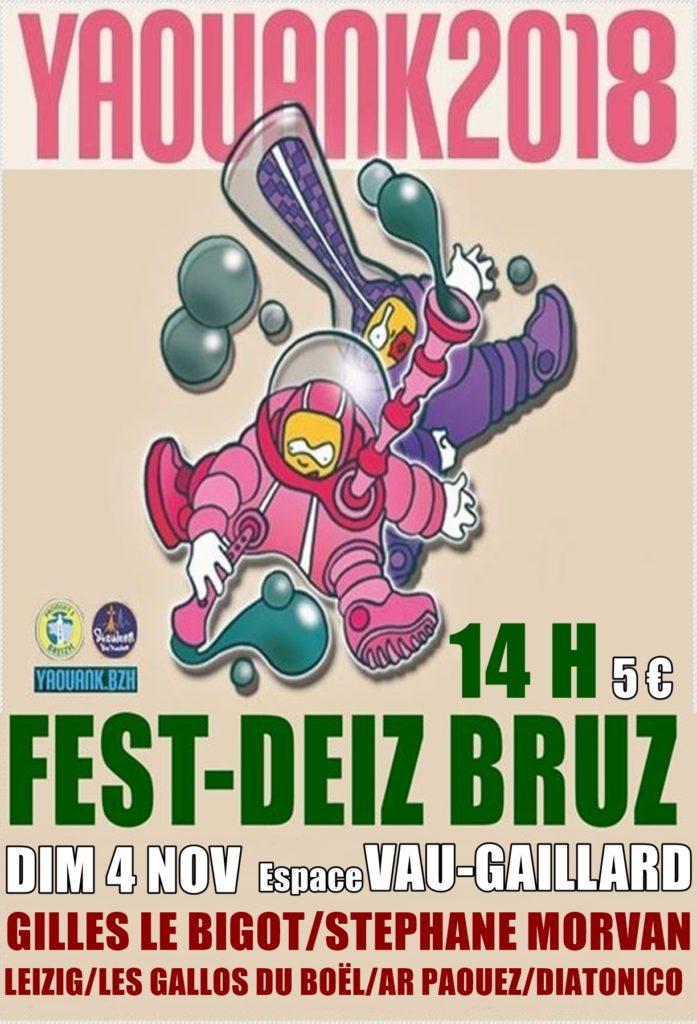 Dimanche 4 novembre : Fest-deiz - Bruz