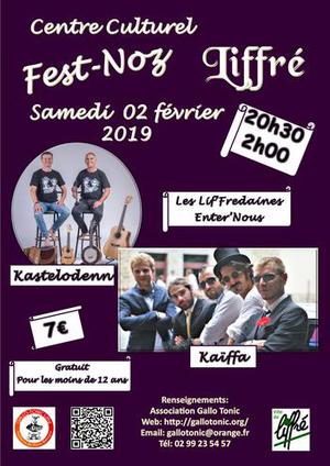Samedi 2 février : Fest-noz- Liffré