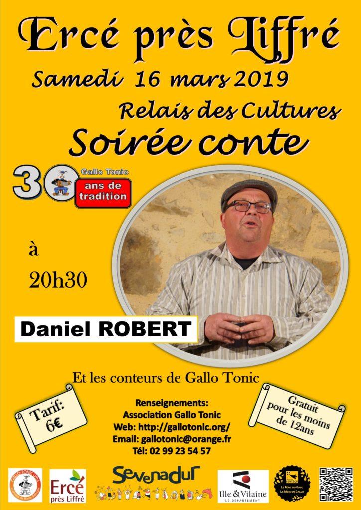 Samedi 16 mars : Soirée conte en gallo - Ercé-près-Liffré