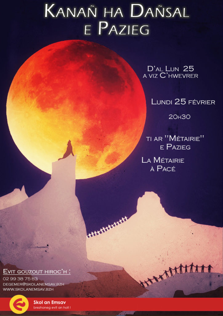 Lundi 25 Février : Atelier Kanañ ha dañsal