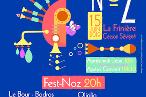 Sam. 15 Juin – Fest-noz – Cesson-Sévigné