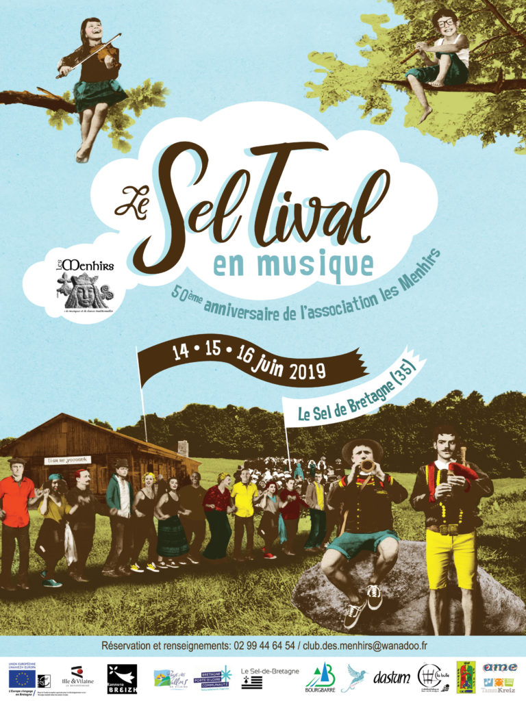 14-15-16 Juin – Le Seltival en musique – Le Sel-de-Bretagne
