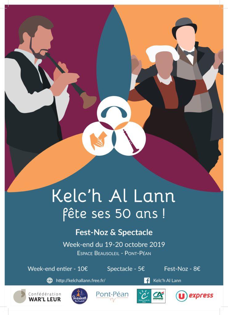Samedi 19 et Dimanche 20 Octobre - 50 ans de Kelc'h al Lann