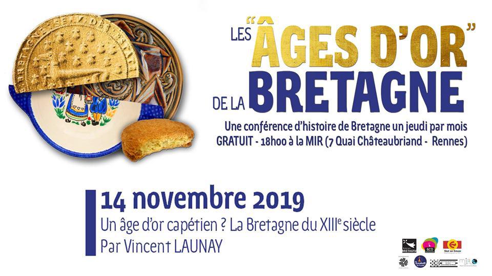 Jeudi 14 novembre - Conférence Vincent Launay