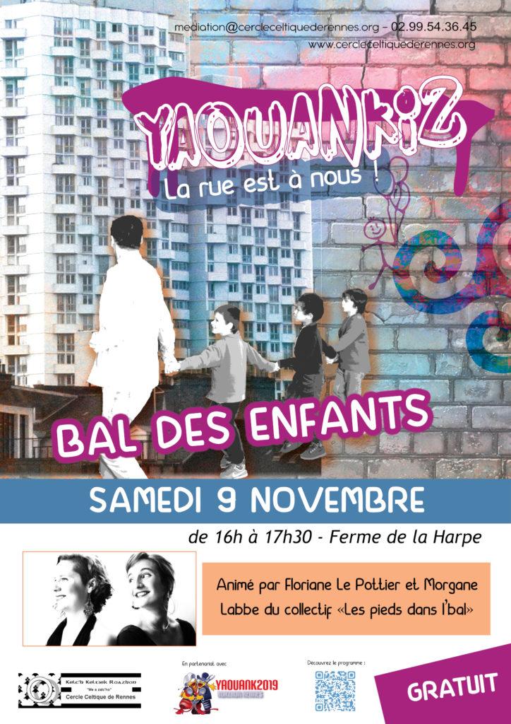 Samedi 9 Novembre - Bal des enfants