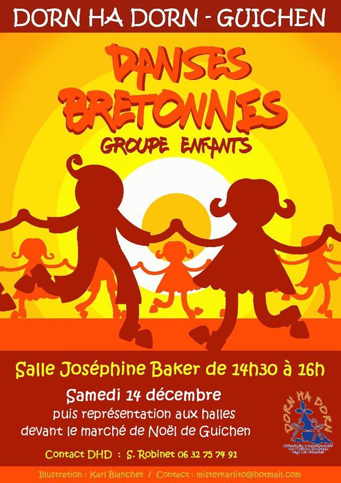 Samedi 11 janvier - Stage de danse - Guichen