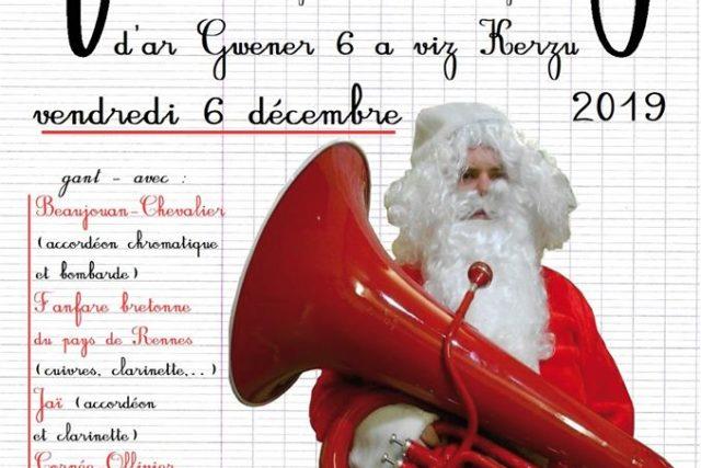 Vendredi 6 décembre – Fest-noz – Rennes