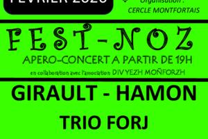 Samedi 29 février // Fest-noz // Montfort-Sur-Meu