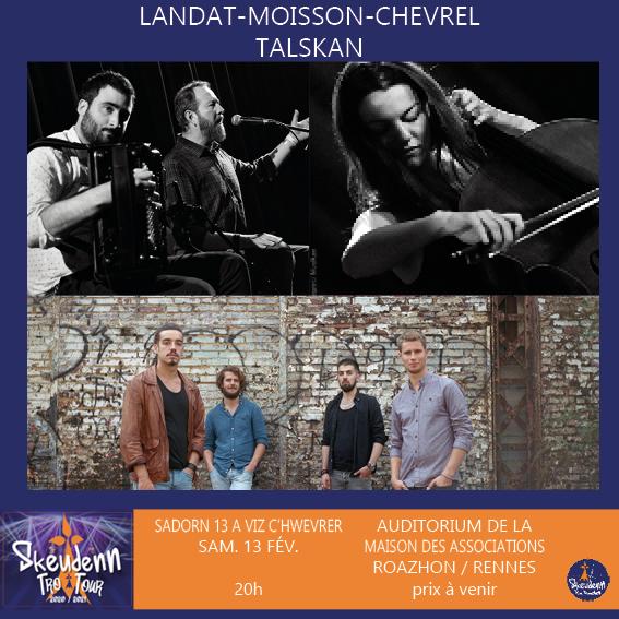 SKEUDENN TRO / SKEUDENN TOUR || LANDAT-MOISSON-CHEVREL / TALSKAN || Roazhon